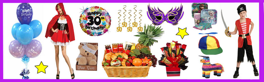 Gift basket cairns gift baskets balloons party supplies your one stop shop negle Images
