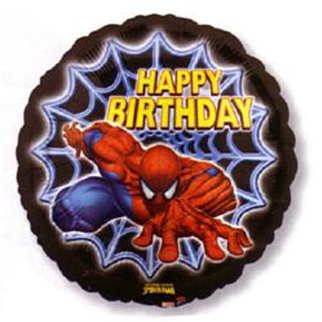 spidermanfoilballoon